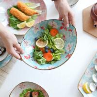 陶瓷22头家用碗筷碗盘盘子碗碗碟餐具饭碗套装套碗