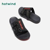 热风男士休闲凉拖鞋H65M9210