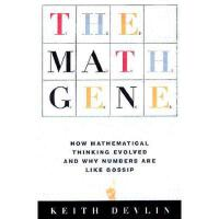 【预订】The Math Gene: How Mathematical Thinking Evolved and