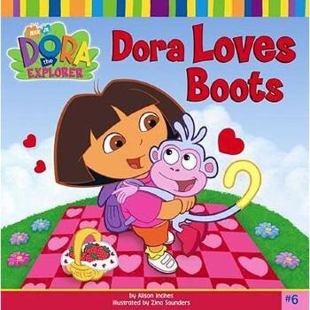 【预订】Dora Loves Boots Y9780689863738 美国库房发货,通常付款后3-5周到货!