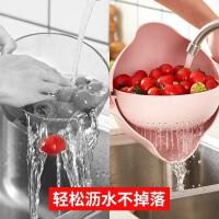 家用洗菜盆沥水篮厨房洗水果厨房旋转果盘菜篮子创意客厅