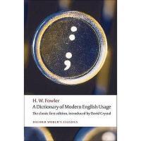 【预订】A Dictionary of Modern English Usage