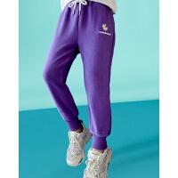 木木屋女童裤子2021新款韩版儿童休闲运动卫裤春夏女孩洋气休闲裤
