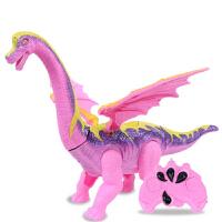 遥控电动恐龙玩具会下蛋会讲故事霸王龙仿真动物模型男孩儿童礼物 遥控下蛋腕龙(精美包装) 充电版(充电器+充电电池)