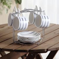 陶瓷套装欧式下午茶茶具套装咖啡套具英式下午茶杯