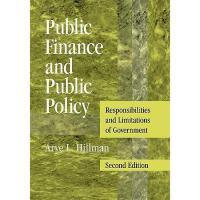 【预订】Public Finance and Public Policy: Responsibilities Y978