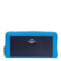 【当当自营】 蔻驰COACH钱包女式新款长款皮革手风琴钱包拉链钱包 F53838