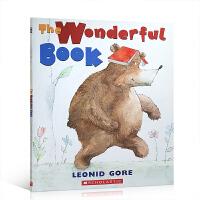 英文原版 The Wonderful Book 一本丢失的书 平装 儿童早教书籍情商培养幼儿启蒙英语 低幼亲子共读经典
