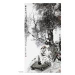 中国现当代名家画范――顾青蛟写意文人高士