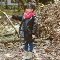 童装男童棉衣2018新款加厚冬装中长款男孩羽绒中大童儿童棉袄