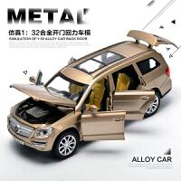 奔驰越野车声光合金车 模型儿童汽车玩具小车男孩车模玩具车