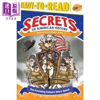 【中商原版】Ready-To-Read Level 3 准备阅读3级 建国之父 儿童分级阅读 英语学习故事小说 平装 英