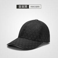 新款格纹帽子黑色棒球帽男女士鸭舌帽春夏天户外运动遮阳帽潮