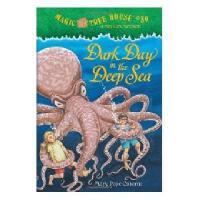 英文原版儿童书 Magic Tree House #39: Dark Day in the Deep 神奇树屋39:黑