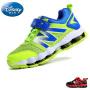 【99元2双】迪士尼童鞋新品透气网布儿童运动鞋防滑耐磨弹力鞋底男童鞋女童鞋
