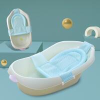 婴儿洗澡盆浴盆通用小孩儿童沐浴桶大号厚宝宝用品可坐躺