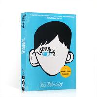Wonder 奇迹男孩 英文原版小说 R.J. Palacio 青春励志感人书籍 纽约时报畅销书 国外进口正版全英文阅
