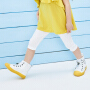 【2件3.8折】迷你巴拉巴拉女童打底裤2019夏装新品儿童女宝宝条纹薄款安全裤