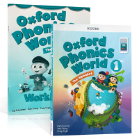 英文原版 Oxford Phonics World 1: Student Book with App.新版 一年级含课