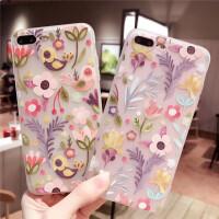 苹果x手机壳iPhone7/8plus软硅胶套六6s磨砂全包防摔女款个性创意