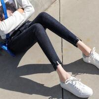 女装打底牛仔裤九分韩版修身显瘦小脚裤子夏季弹力铅笔裤子