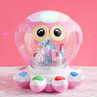 婴幼儿宝宝早教益智玩具0-1岁新生6个月以上儿童女孩摇铃有声会动
