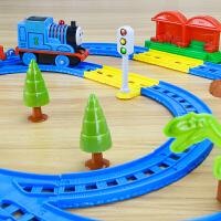 轨道车玩具电动百变轨道赛车儿童玩具百变小火车套装男孩智力礼物