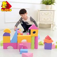 儿童大号3-6周岁eva软体塑料海绵泡沫积木011