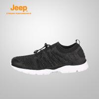 【特惠价】Jeep/吉普 男士轻质防滑减震户外鞋越野徒步鞋J811091720