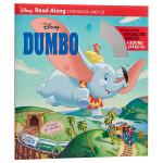 【中商原版】迪士尼独立阅读系列 小飞象 英文原版 Dumbo 附CD 卡通动画故事绘本 6-8岁