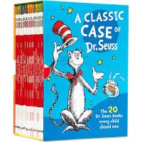 A Classic Case of Dr Seuss 戴帽子的猫20本故事童书全套 苏斯博士经典故事绘本 Dr Seus