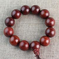 赞比亚血檀木手串2.0非洲小叶紫檀木佛珠手链男女饰品礼物实木珠