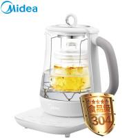 美的(Midea)养生壶 多功能电水壶 燕窝炖 养生壶煮茶壶GE1501a(可炖燕窝)(LD)