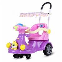 20190709121905062儿童扭扭车万向轮溜溜车1-3岁宝宝滑行车婴幼儿手推带护栏滑滑车