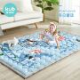 KUB 可优比 宝宝棉质爬爬垫 200*150cm 加厚棉质儿童折叠爬行垫防滑游戏毯婴儿环保地垫