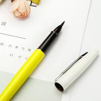 可加墨软笔钢笔式毛笔初学者狼毫小楷练字笔抄经笔软头自来水笔秀丽笔新毛笔文房四宝书法毛笔套装