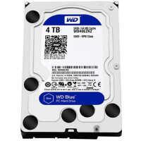 WD/西部数据 蓝盘 4TB SATA3 64M 3.5英寸台式机硬盘 WD40EZRZ 单碟1TB