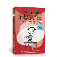 英文原版绘本 Big Nate From the Top Lincoln Peirce 大内特从头再来 儿童启蒙阅读训