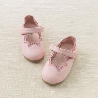 [2件3折价:98.1]戴维贝拉春夏新款女童皮鞋 宝宝浅口单鞋公主鞋DB7011