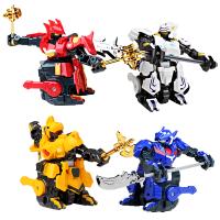 电动格斗智能机器人儿童玩具极速勇士3 这就是铁甲三国遥控对战