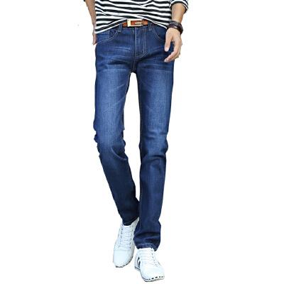 1号牛仔  男牛仔裤时尚休闲直筒男长裤