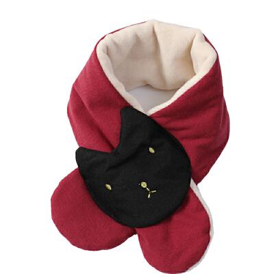 儿童围巾秋冬女宝宝围脖韩版婴儿冬季男宝小孩保暖可爱女童宝宝潮