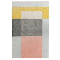 北欧风格地毯 现代简约几何客厅沙发茶几地垫儿童房间卧室床边毯 Q 08