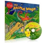 英文原版 The Animal Boogie 动物的舞蹈 廖彩杏韵文儿歌(附CD) 幼儿童英语启蒙阅读教材绘本