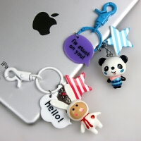 卡通钥匙扣可爱创意女生包包汽车挂件