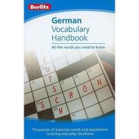 【预订】German Vocabulary Handbook