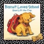 【预订】Biscuit Loves School Giant Lift-The-Flap