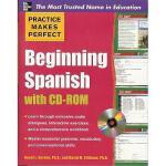 【预订】Beginning Spanish [With CDROM]