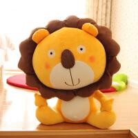 生日礼物小狮子公仔可爱狮子座毛绒玩具儿童女孩大玩偶布娃娃女生