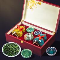 安溪铁观音茶叶礼盒装500g兰花香特级浓香型乌龙茶